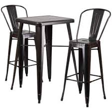 Indoor Bistro Table And 2 Chairs Bar U0026 Pub Table Sets For Less Overstock Com