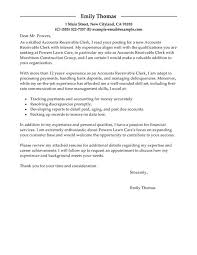 customer cover letter example inside samples for accounting 17