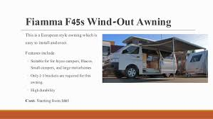 Small Campervan Awnings Top 7 Awnings For Your Caravans And Campervans