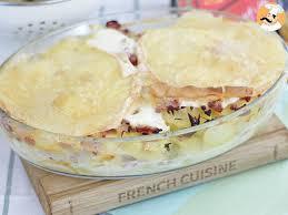 cuisine tartiflette tartiflette savoyarde traditionnelle recette ptitchef