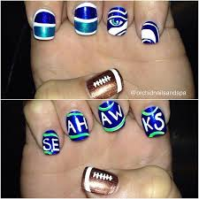 59 best seattle seahawks nails hair and makeup images on