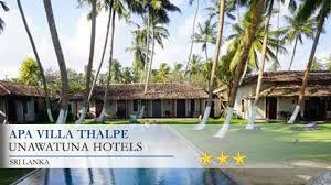 Hotel Flower Garden Unawatuna by Apa Villa Thalpe Unawatuna Hotels Sri Lanka Youtube