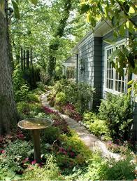 Shady Garden Ideas A Side Yard Rdm Architecture