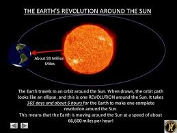 how fast does the earth travel around the sun images Earth is revolving around the sun at 66000 mph why don 39 t space