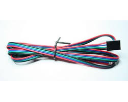 4 wire cable 24awg red blue green black 1m 3d printing