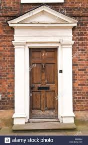 Exterior Door Frames Home Depot Front Doors Blue Panelled Front Door With White Frame And Semi