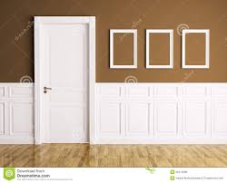 How To Frame A Interior Door Interior With Door And Frames Stock Illustration Illustration Of