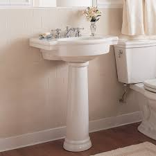 retrospect 27 inch pedestal sink american standard with ideas 2