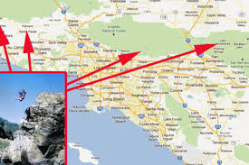 Los Angeles City Limits Map by Five Great Places In Socal To Jump Off A Cliff Curbed La