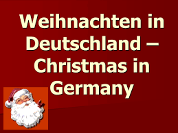powerpoint about german christmas traditions by calteacher