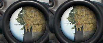 pubg 8x scope range where does the bullet on the 4x land pubattlegrounds