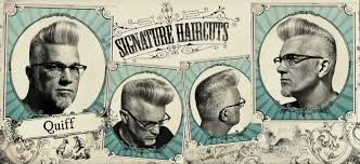hair style names1920 the quiff signature haircuts barbershop classics pinterest