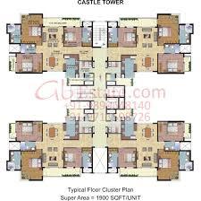 cluster house plans 9 best residential tower floor plan images on pinterest floor