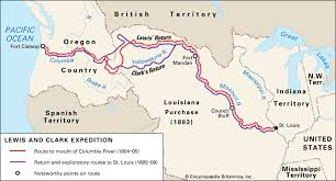 clark map lewis and clark expedition history facts map britannica com