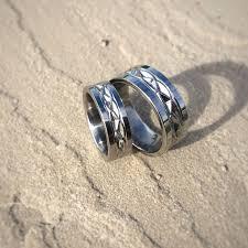 symbolic rings 125 best titanium wedding rings images on titanium