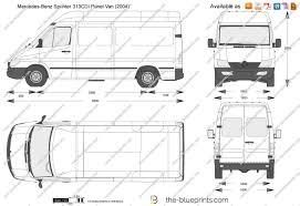 the blueprints com vector drawing mercedes benz sprinter