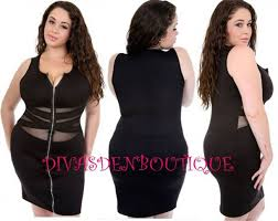 dress plus size mesh zipper dress front zipper plus