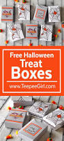 free halloween graphic free halloween treat boxes teepee