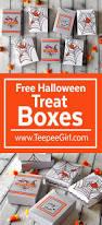 free halloween graphic free halloween treat boxes teepee