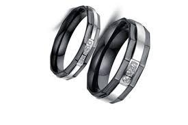 black wedding ring sets black wedding ring with black diamonds