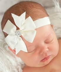 baby hair bows ribbon flower hair bow headband with bambino headbands