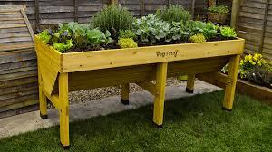 Urban Vegetable Garden by Vegtrug Urban Vegetable Planter Dudeiwantthat Com