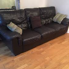 Laminate Flooring Free Delivery Dfs Brown 3 3 Seater Leather Sofas U0026 Storage Footstool Free