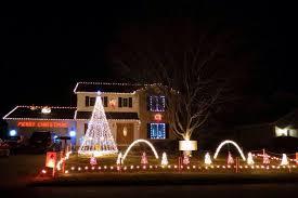 a dicken christmas holiday lighting display home facebook