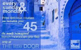 the little door best most romantic restaurant in los angeles