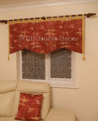 how to sew curtains u2013 simple valance u2013 diy home decor