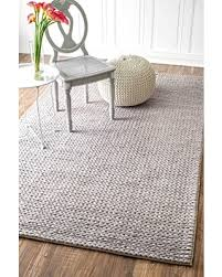 Solid Area Rugs Great Deal On Nuloom Contemporary Solid Braided Area Rugs 4 U0027 X 6
