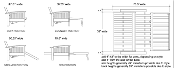 Average Loveseat Size Size Guide