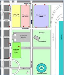 navy pier map navy pier chicago parking millennium garages chicago parking