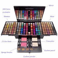 miss 180 colours matte shimmer eyeshadow palette concealer