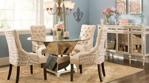 Narrow Dining Tables by Dining Room Round Glass Dining Table With Chairs Stunning Small