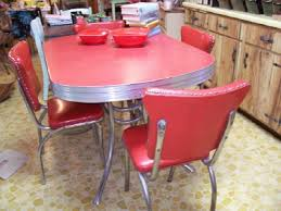50s style kitchen table a 50 s retro kitchen table and chairs and cleaning chrome preserve