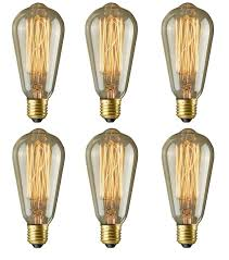 edison bulbs rolay 40w dimmable industrial pendant filament light