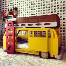 Kids Bedroom Furniture Collections Vw Camper Van Bay Theme Bunk Bed By Fun Furniture Collection Home