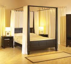 modern four poster beds apartment therapy