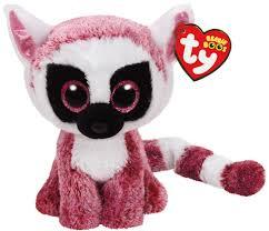 ty beanie boos gabby the 6 ty beanie boo pink lemur toy at mighty ape nz
