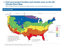 us climate map foam free wall assembly guidelines by climate zone 475 high