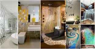 wonderful u0026 cool bathroom tiles that will grab your attention