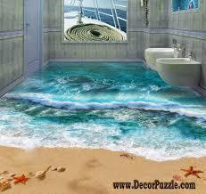 bathroom floor idea 3d bathroom floor murals designs and self leveling floors