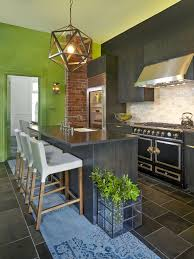 kitchen style displaying enticing islands green kitchens color