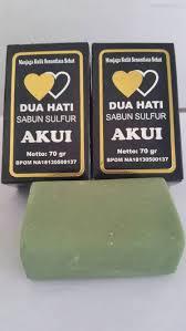 Sabun Belerang Di Apotik jual sabun sulfur akui dua hati kosmetik