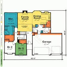 simple one floor house designs one story house plans with open