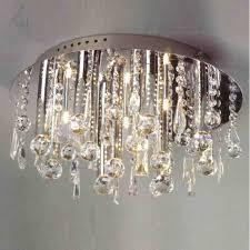 crystal semi flush mount lighting light fetching crystal flush mount lighting brizzo st gold coast
