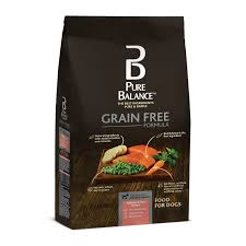 pure balance grain free salmon u0026 pea recipe food for dogs 24lbs
