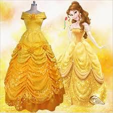 Belle Halloween Costume Women Cheap Princess Belle Costume Aliexpress