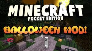 minecraft pocket edition halloween mod download 0 14 0 youtube
